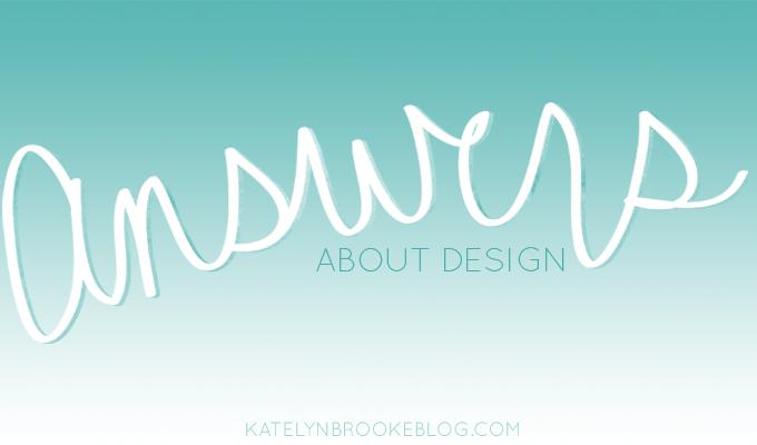 Answers: Design // Blog Post About Becoming a Blog Designer // via Katelyn Brooke Designs