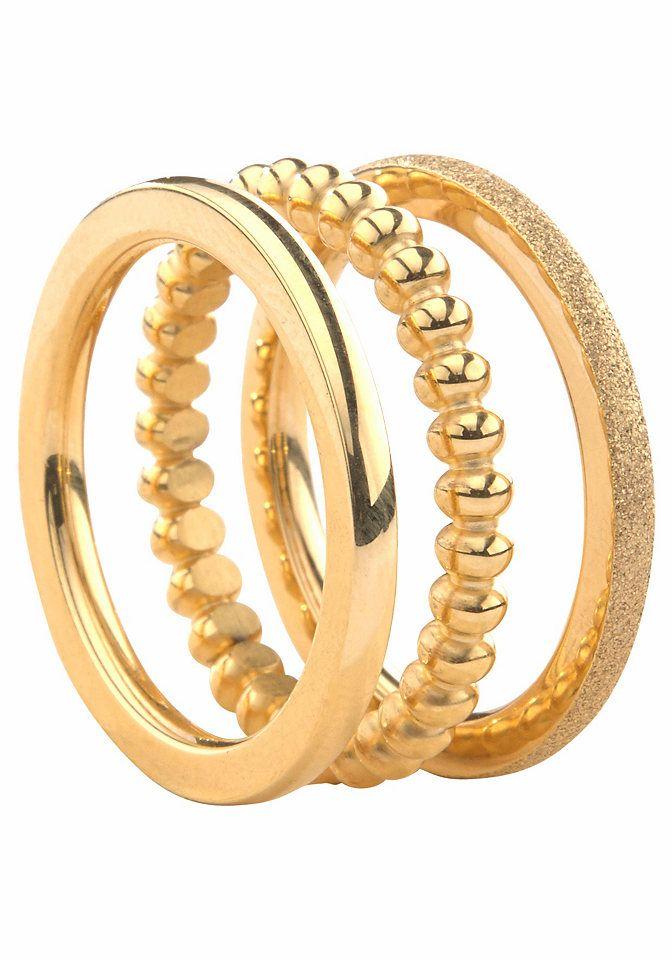 Ring-Set, Gr. 54/17, goldfarben, Ringe, 91305234-54 Jetzt bestellen unter: https://mode.ladendirekt.de/damen/schmuck/ringe/goldringe/?uid=9cf8391e-de1d-5239-a49a-527b69dbada1&utm_source=pinterest&utm_medium=pin&utm_campaign=boards #schmuck #ringe #goldringe
