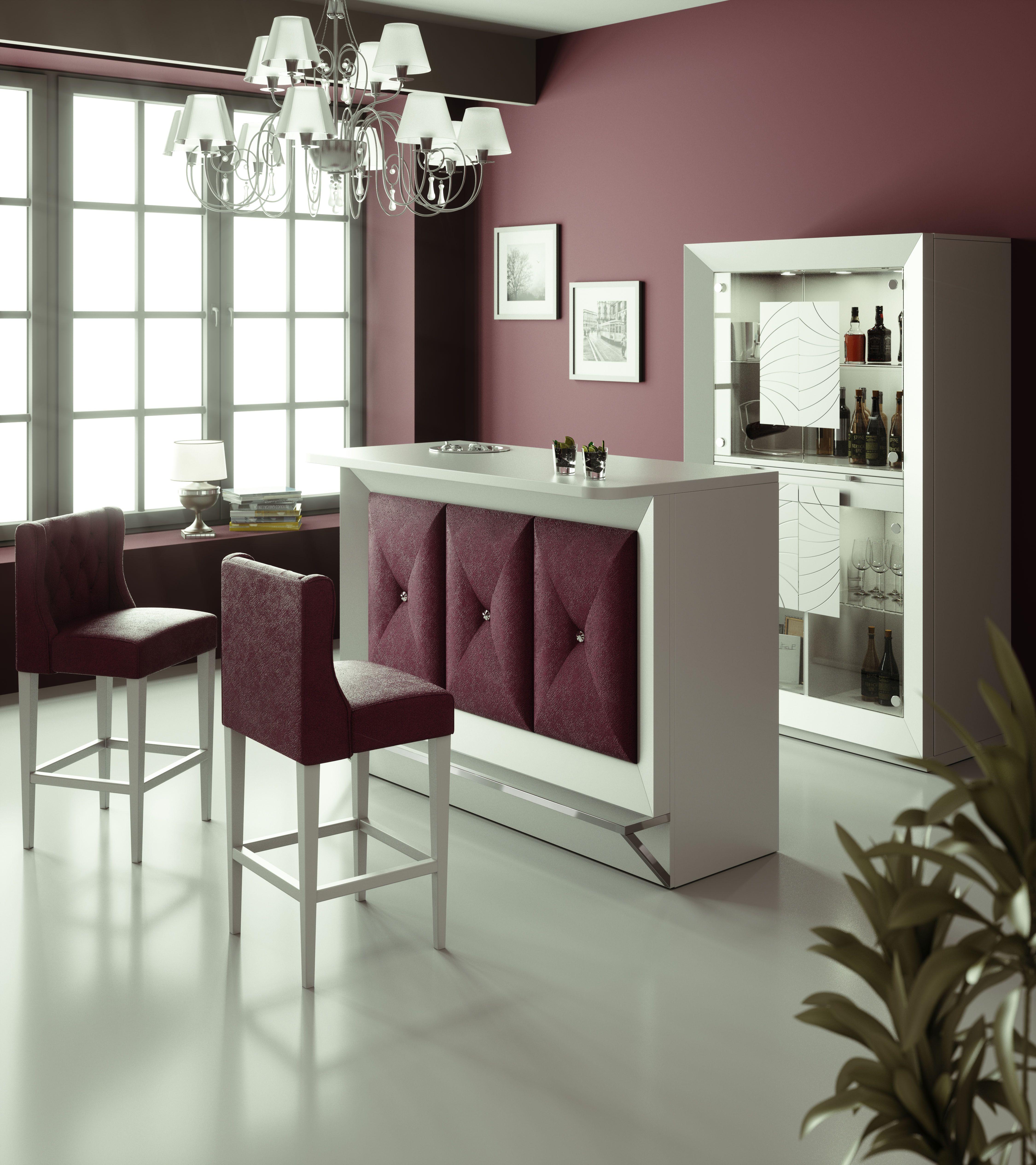 Barras de bar para casas www.francofurniture.es   Ideas Bar en Casa ...
