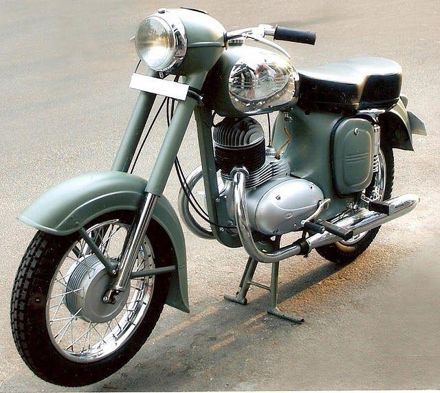 Yezdi Model B Jawa Made In India Vintage Bikes Classic