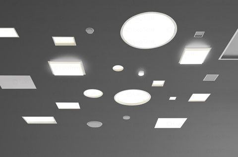Trybeca recessed lighting by reggiani