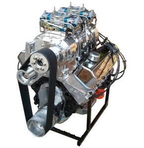 1072 HP Chevy Supercharged Big Block 572 Stroker Complete