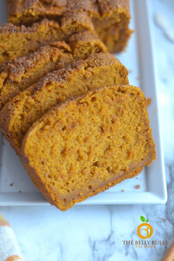 Vegan Blender Pumpkin Bread