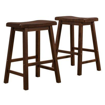 Strange Scoop 29 Barstools Walnut Set Of 2 For The Home Ocoug Best Dining Table And Chair Ideas Images Ocougorg