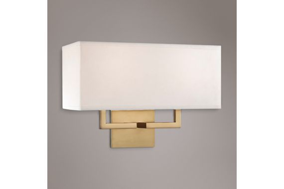 George Kovacs White Honey Gold 11 Inch H Wall Sconce Part 80