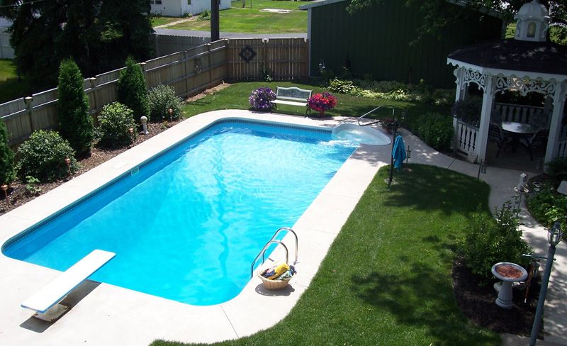 Rectangle Inground Swimming Pool Kits, Want To Build Me A Pool