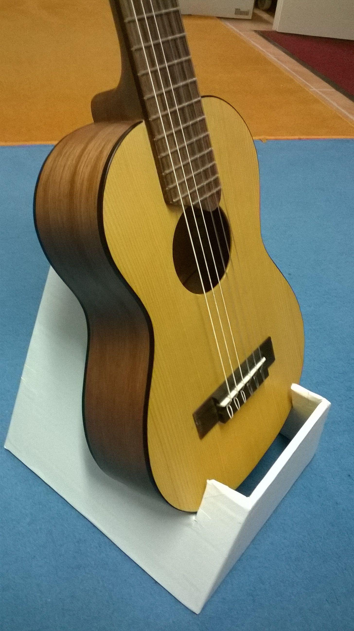 Diy Guitar Stand Cardboard Diy Pinterest Guitar Diy Guitar