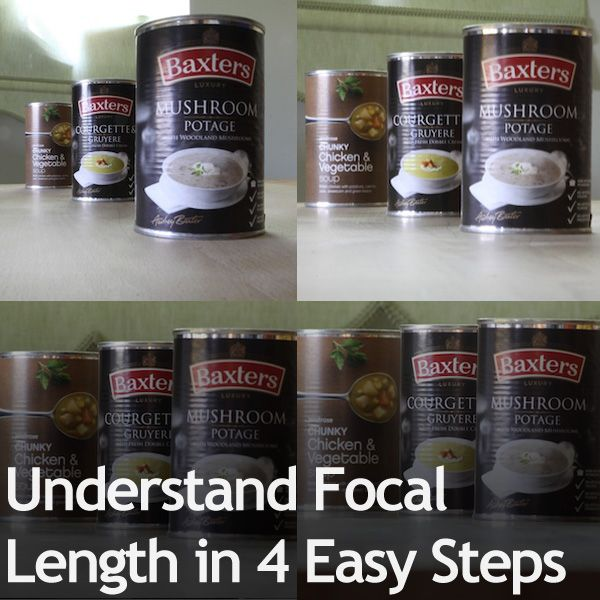 How To Understand Focal Length  In 4 Easy Steps