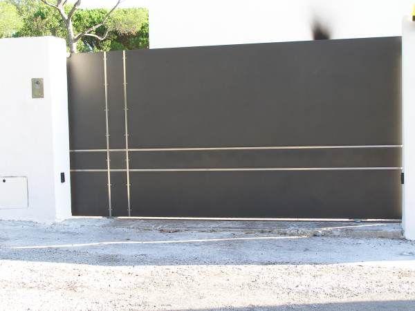 r sultat de recherche d 39 images pour portail en fer tole portails pinterest portail en. Black Bedroom Furniture Sets. Home Design Ideas
