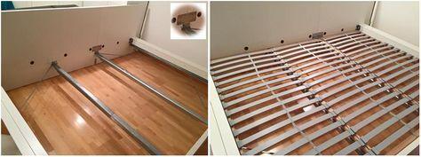 Ein Traum In Weiss Das Ikea Malm Familienbett Das Malm Bett Von Ikea Ist Ein Sehr Beliebtes Bett Welches Auch Fur Die Zu Malm Bett Familienbett Familien Bett