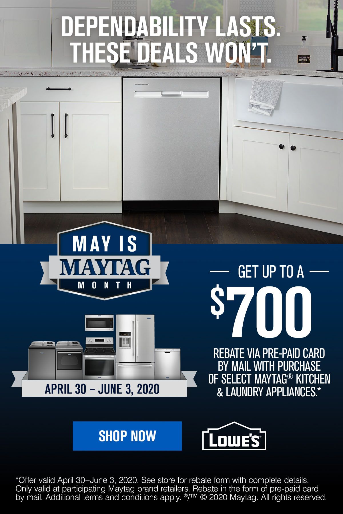 Get Great Deals On Dependable Appliances At Lowe S Bathroom Makeovers On A Budget Maytag Kitchen Interior Design Kitchen