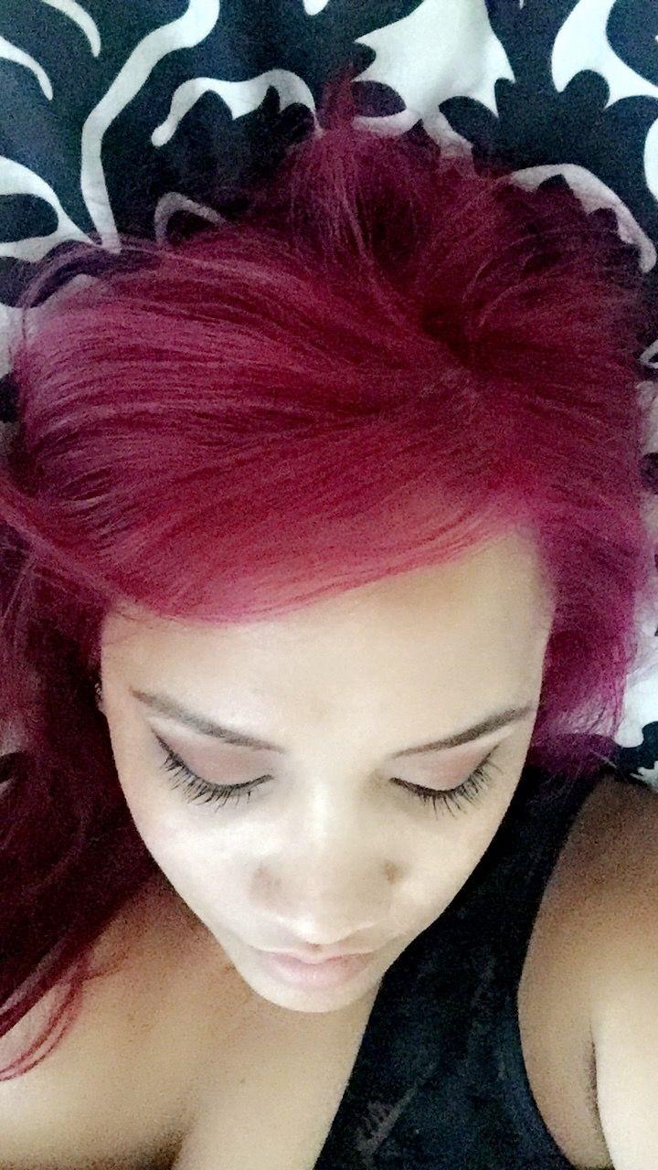 Sangria Pop Hair Color | lajoshrich.com
