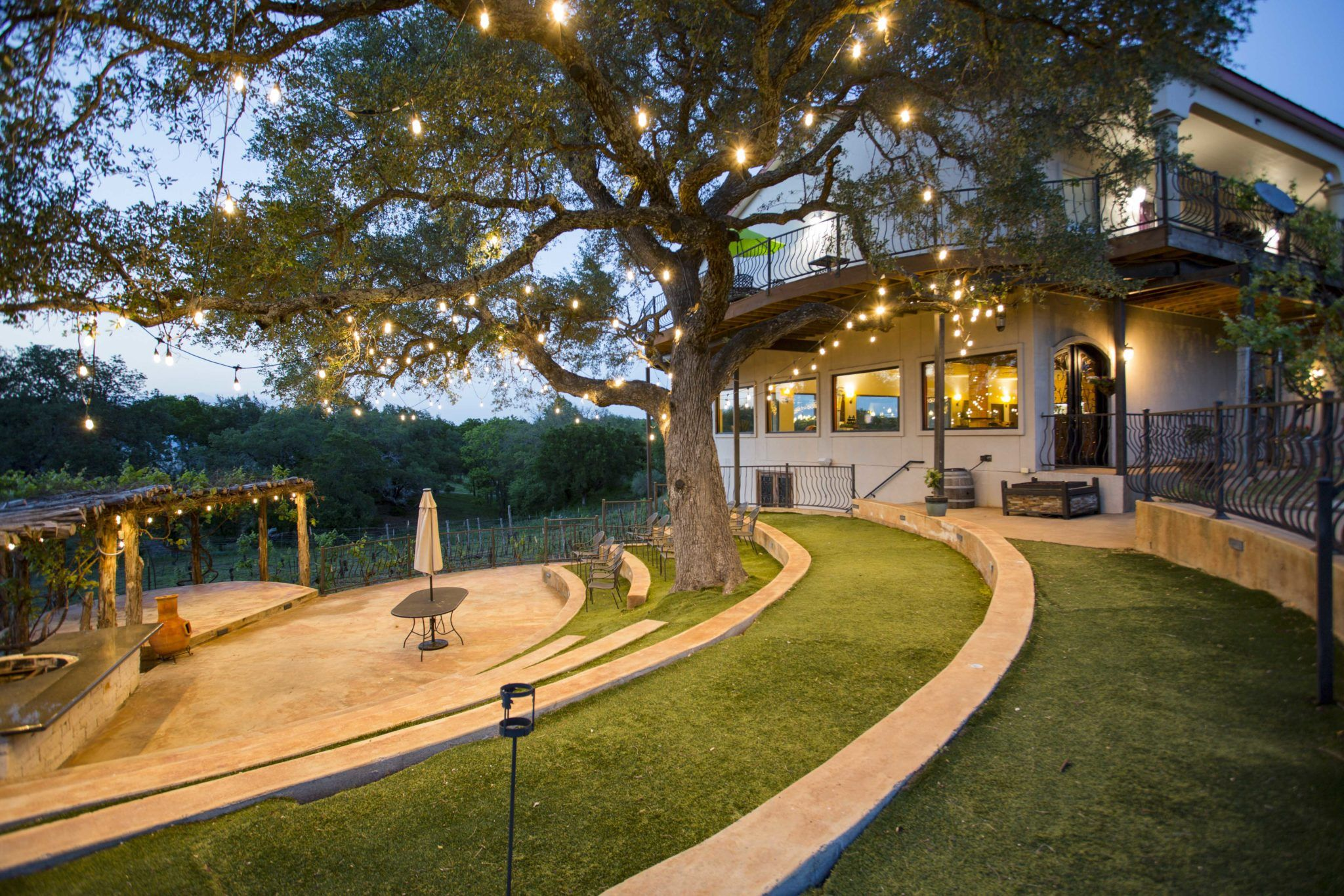 Photo Tour Texas hill country wedding venues, Hill