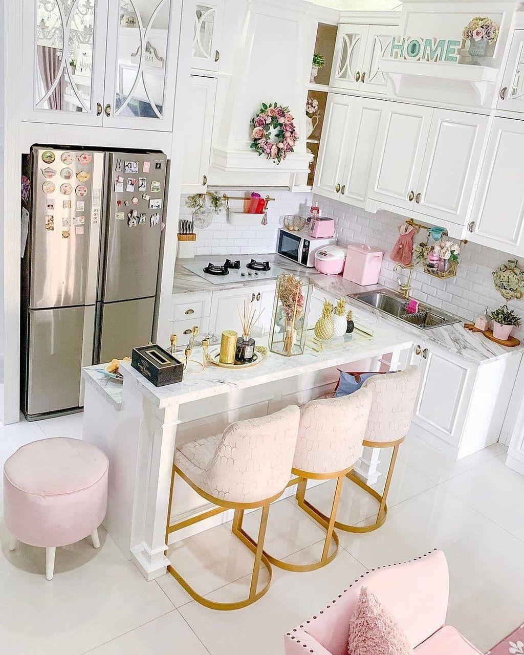 Beautiful Girly Kitchen Designs Unique Homedesign Kitchen Decor Apartment Kitchen Decor Pink Kitchen Decor