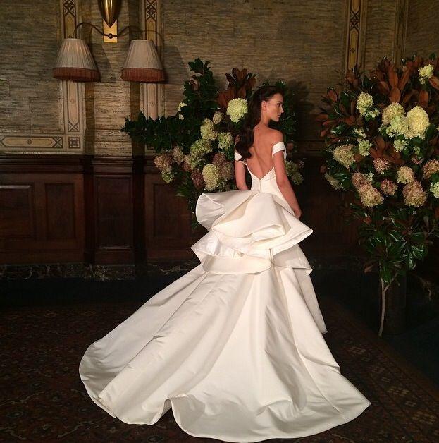 Austin Scarlett Wedding Gowns: Austin Scarlett #bridalfashionweek #bridalmarket
