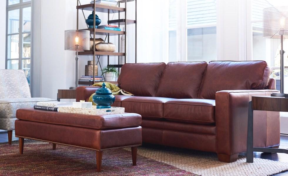 Leather LaZBoy Leather sofa, Sofa, Leather sofa couch