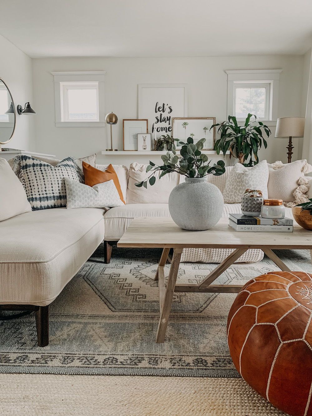How To Style A Sectional The Beauty Revival How To Style Throw Pillows In 2020 Throw Pillows Living Room Living Room Decor Neutral Throw Pillow Styling #throws #for #living #room
