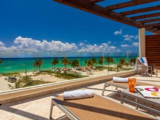 On the Beach with Room Service & Private Beach ClubVacation Rental in Playa del Carmen from @HomeAway! #vacation #rental #travel #homeaway