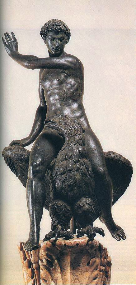 Benvenuto Cellini - Ganymede and the Eagle. Museo Nazionale del Bargello, Florence