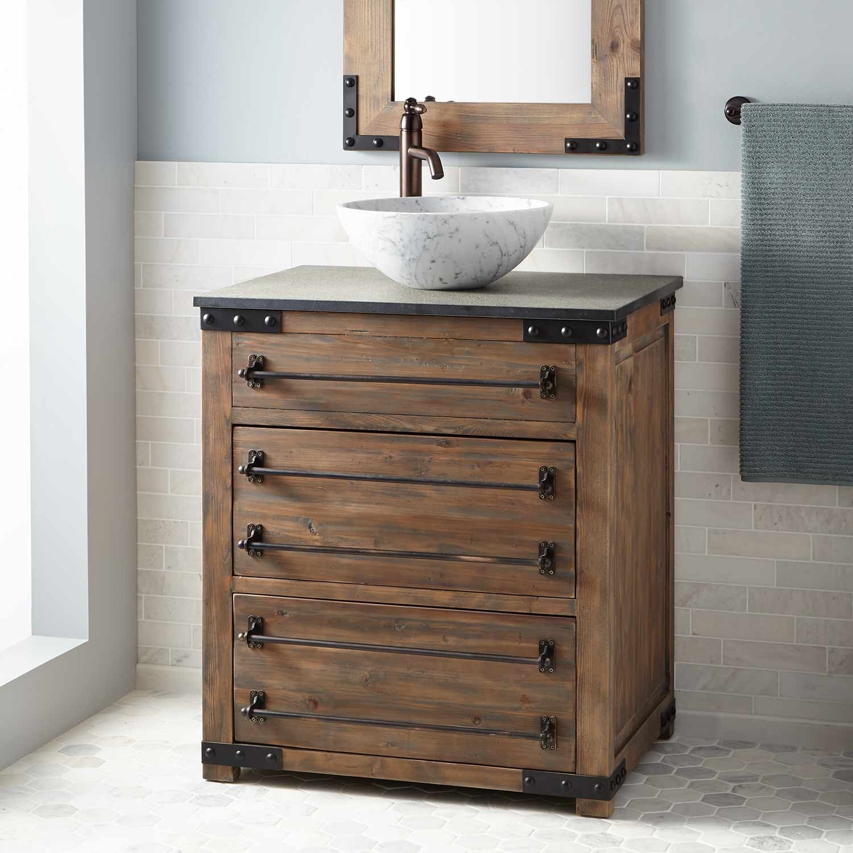 reclaimed bathroom furniture. 30\ Reclaimed Bathroom Furniture 9