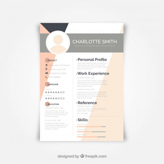 Graphic Resources for everyone in 2020 Modern resume