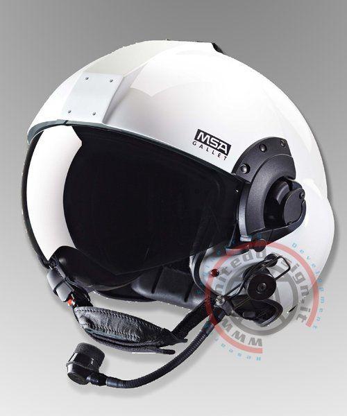 Helicopter helmet MSA LH 350 http//www.uniteddesign.it