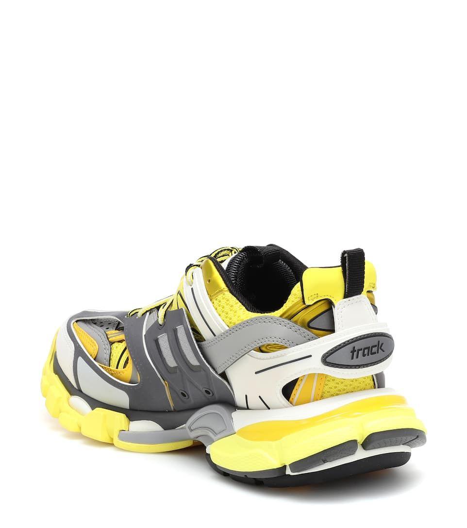 Balenciaga Track Trainers Yellow White