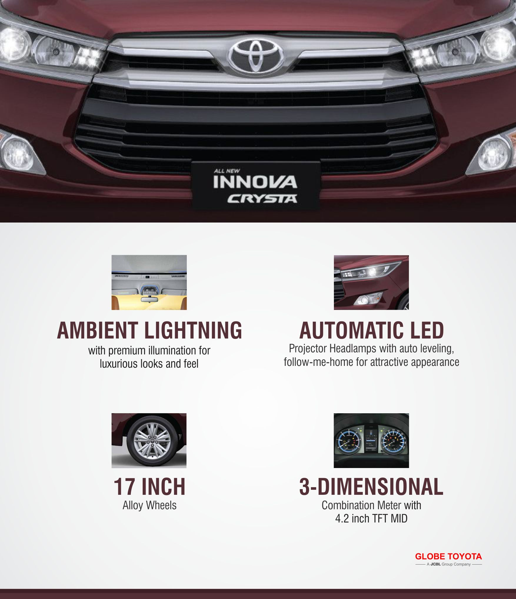 Innovacrysta 2nd Generation Version Of Super Popular Mpv Is Loaded With Features Never Seen Before In Mpv Class Why Cry Toyota Toyota Dealership Globe