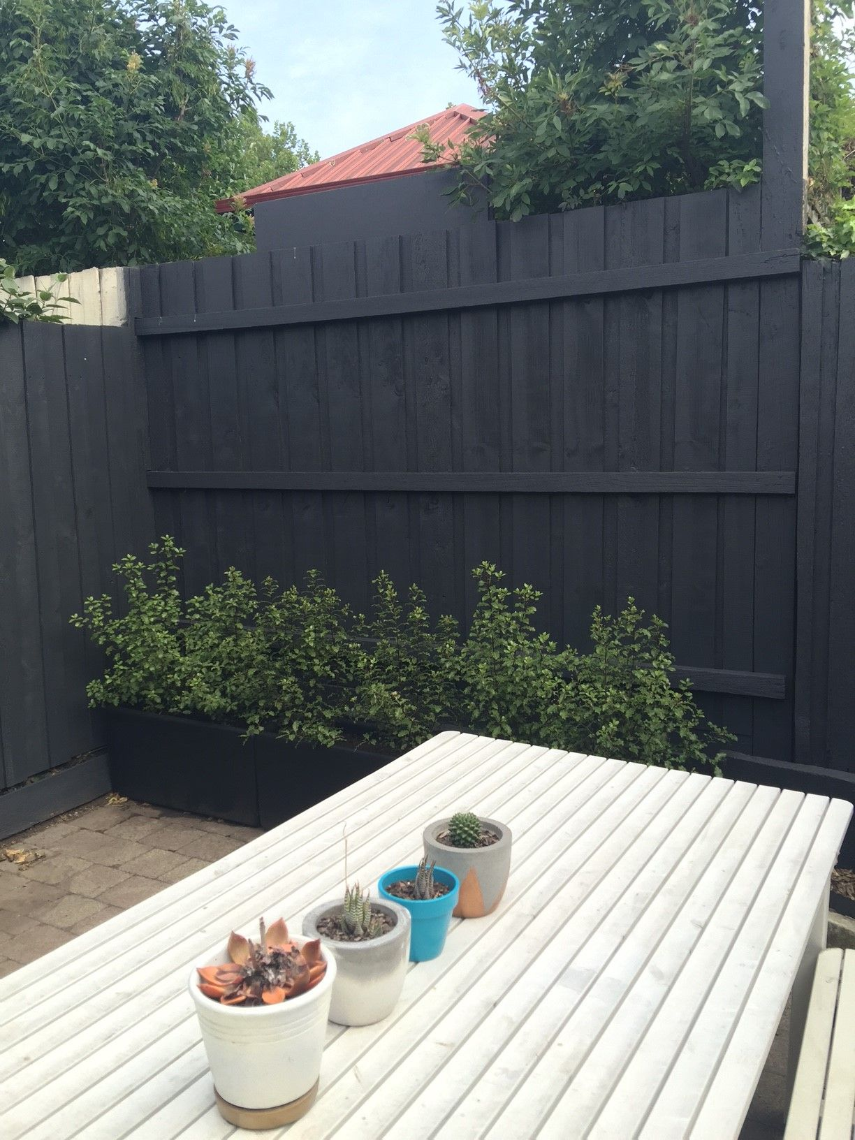 Dulux Domino Fence Small Backyard Landscaping Fence Paint