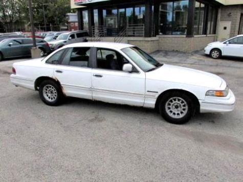 Cheap 6 Passenger Car Under 1000 Used Ford Crown Vic 95 In Il
