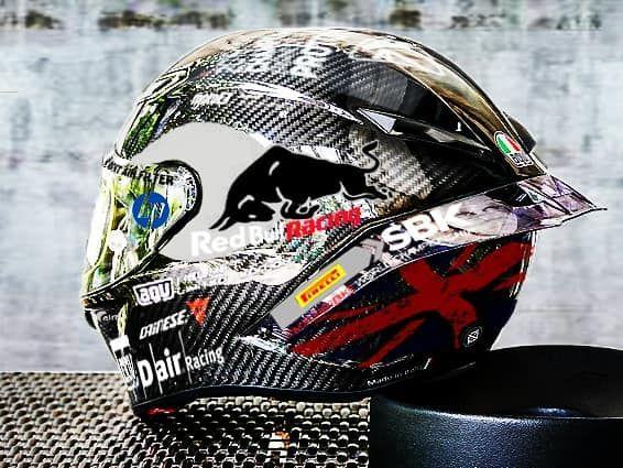 agv pista gp r carbon anniversario helmet 2019 MOTO2