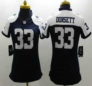 ... Stitched NFL Nike Dallas Cowboys Jersey 33 Tony Dorsett Blue  Thanksgiving Limited Womens Jerseys ... 39a0cc926