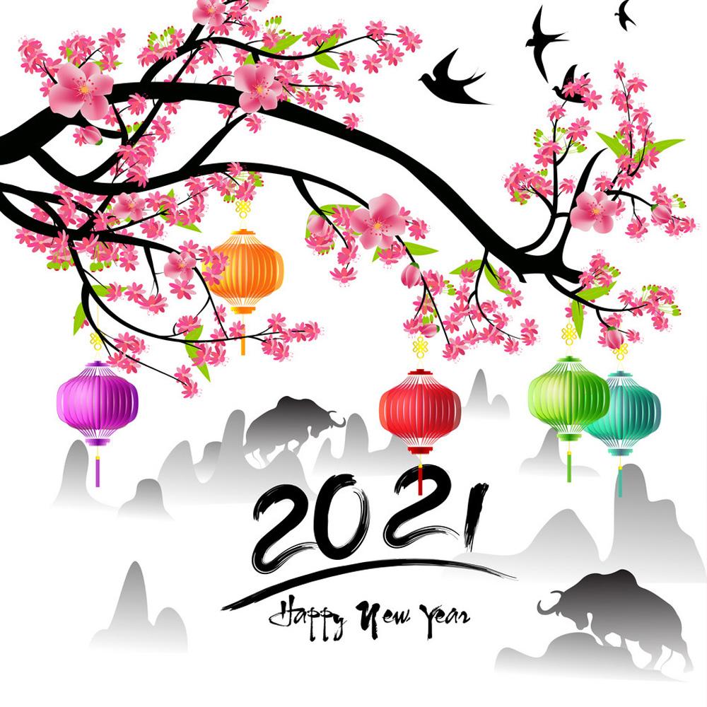 Top 100 hình nền chúc mừng năm mới - tết nguyên đán tân sửu 2021 trong 2020  | Chúc mừng năm mới, Thiệp, Nhật ký nghệ thuật