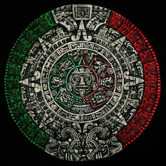 Lgo Chingon Calendario Azteca Arte Azteca Simbolos Aztecas