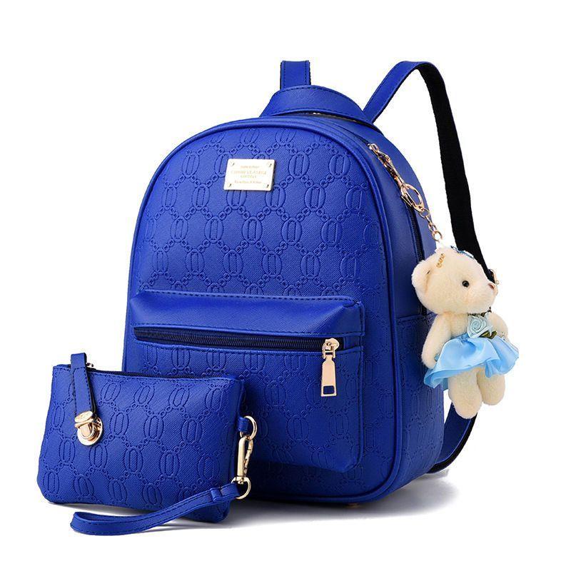 Womens Travel Backpack Girls Leather Shoulder School Bags Satchel Purse  Bookbags 595251fb97