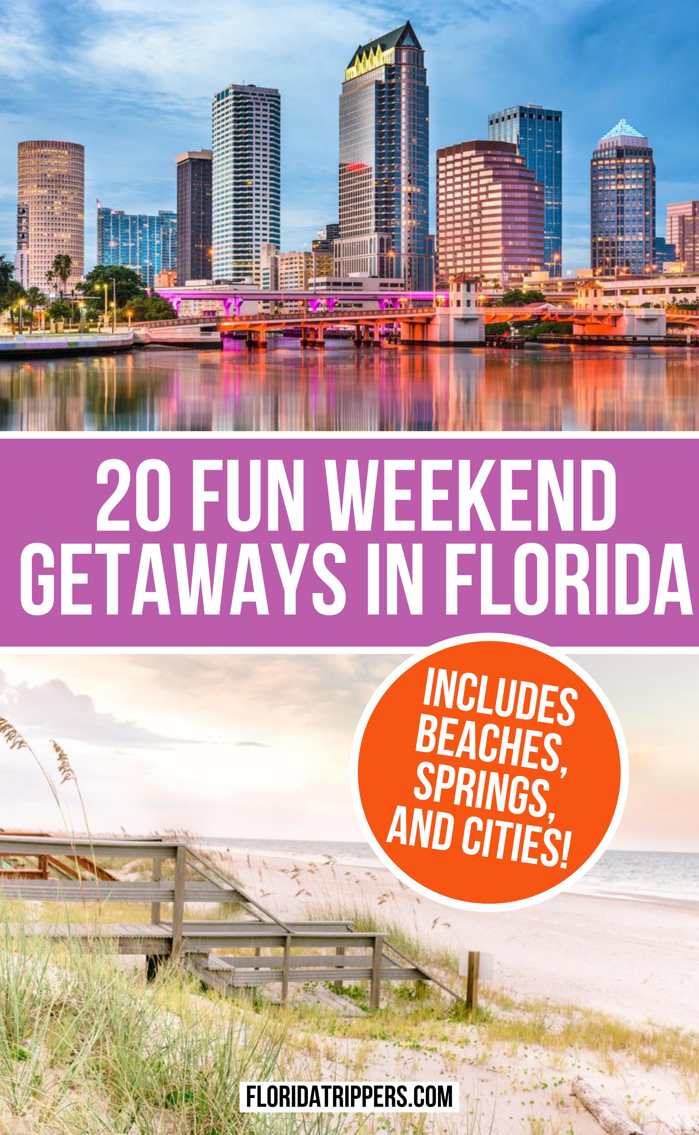 20 Interesting Weekend Getaways In Florida Usa Travel Guide North America Travel Travel Usa