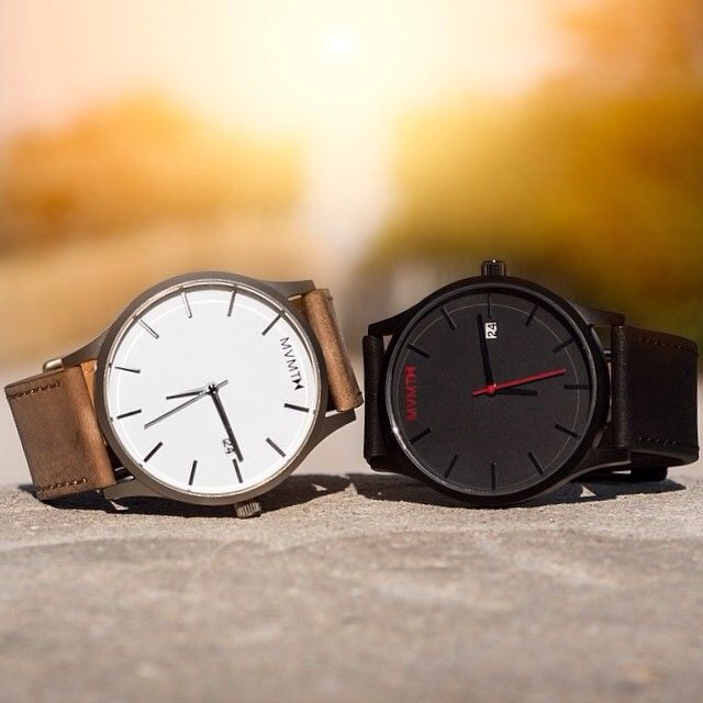 Two is always better than one. Purchase here: http://www.mvmtwatches.com/?utm_source=Pinterestutm_medium=Pinsutm_campaign=Profile |  Picture credit: Joey L. #watches #jointhemvmt #joeyl