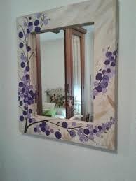 Espejos Decorados A Mano Buscar Con Google Marcos De Espejos Pintados Marcos Para Espejos Espejos Con Venecitas
