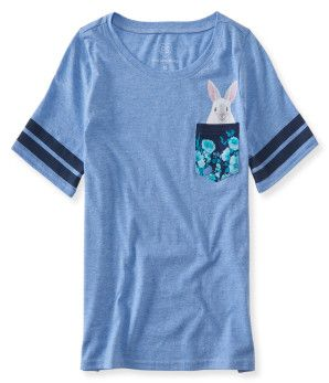 Kids' Bunny Pocket Tee -