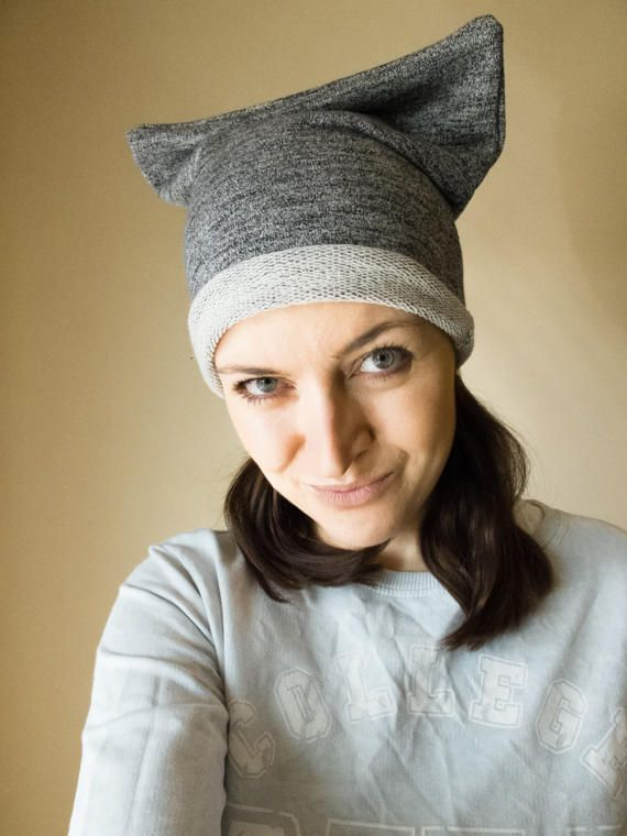 Pussyhat, pussycat hat cotton, cool beanies for guys, crazy hat ...