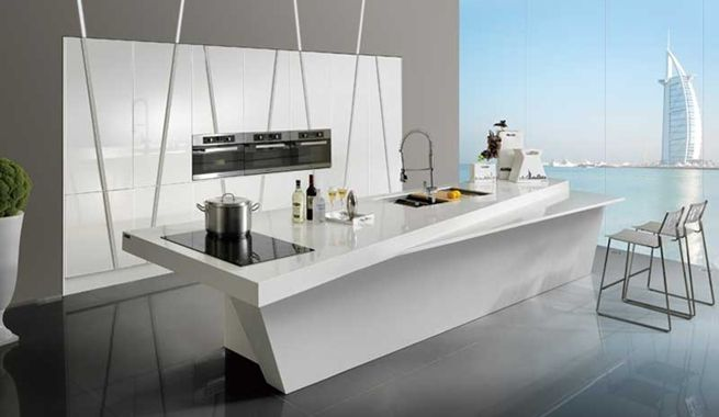 Cocinas Con Islas Modernas Cocinas Pequenas Practicas Y Modernas - Cocinas-practicas-y-modernas