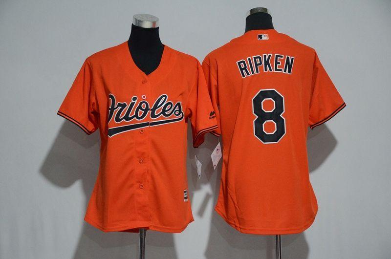 Outerstuff Baltimore Orioles Blank Orange Kids Team Leader Replica Jersey