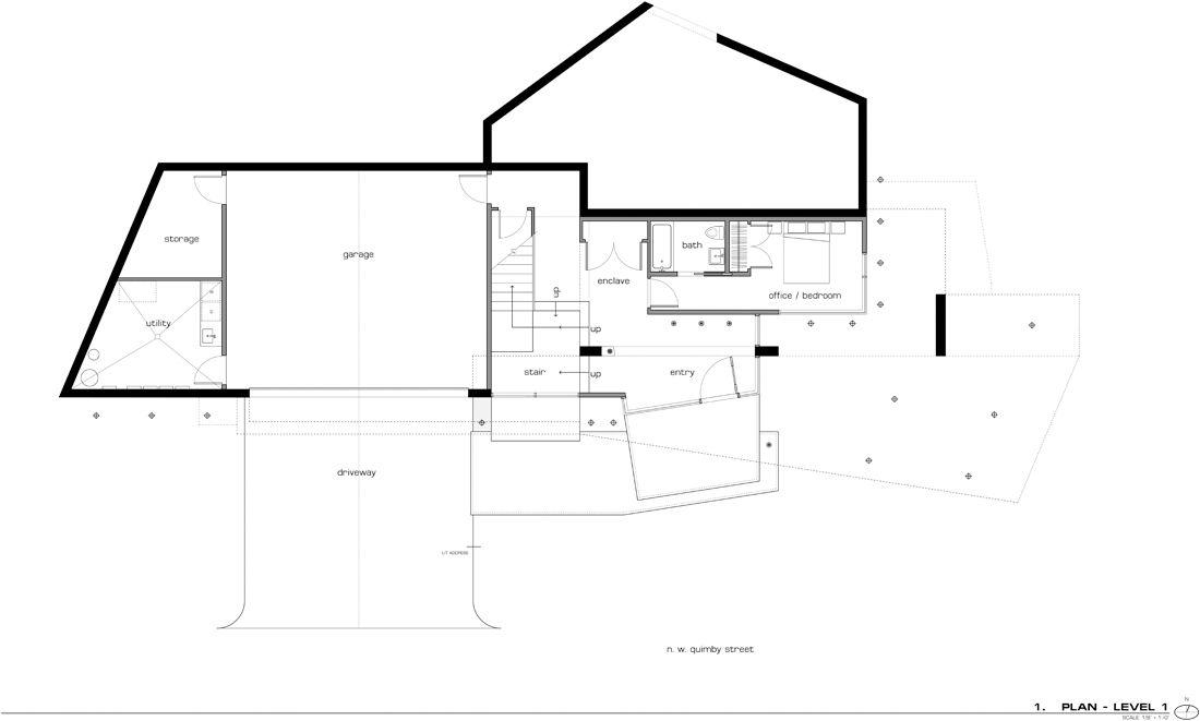 Hoke Residence Skylab Architecture Arquitour Planos Casas Una Planta Casa Crepúsculo Casas