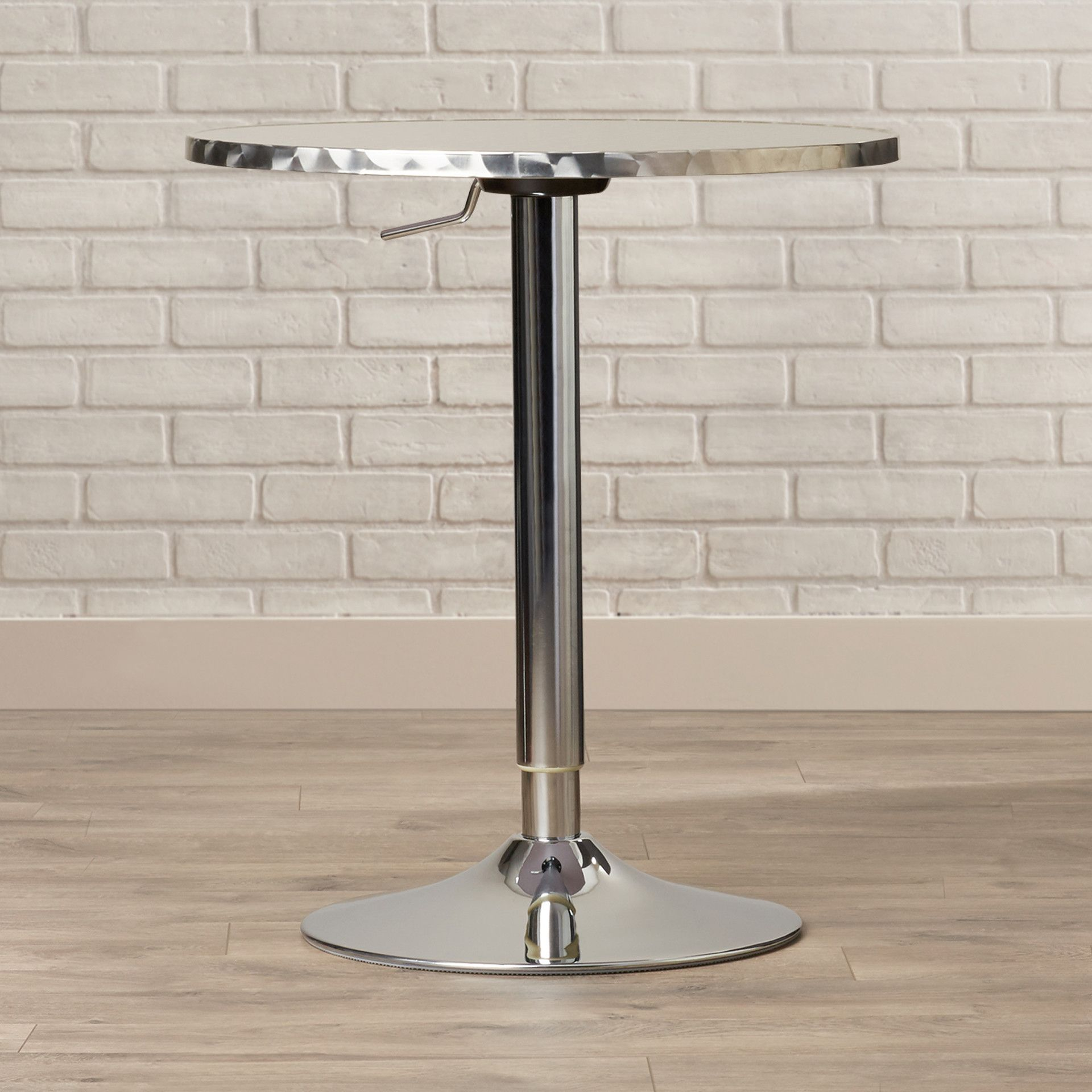 Adlai Adjustable Height Pub Table Products - Adjustable height cafe table