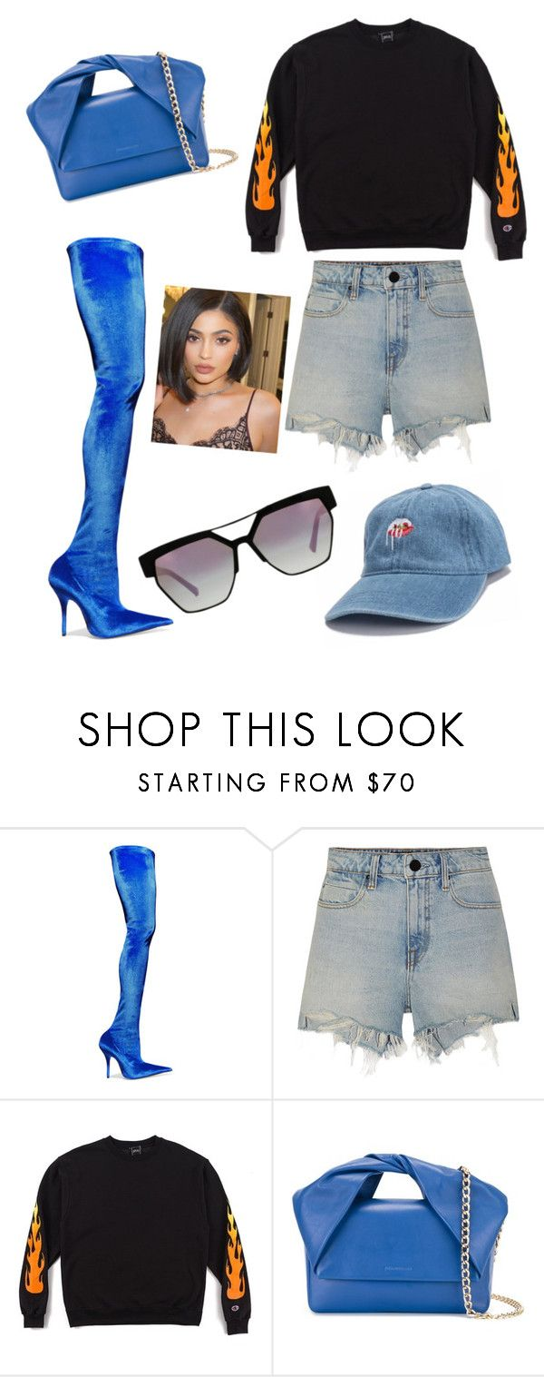 """""""Untitled #38"""" by tudor-stefan-ciopraga ❤ liked on Polyvore featuring Balenciaga, Alexander Wang, J.W. Anderson and Kendall + Kylie"""