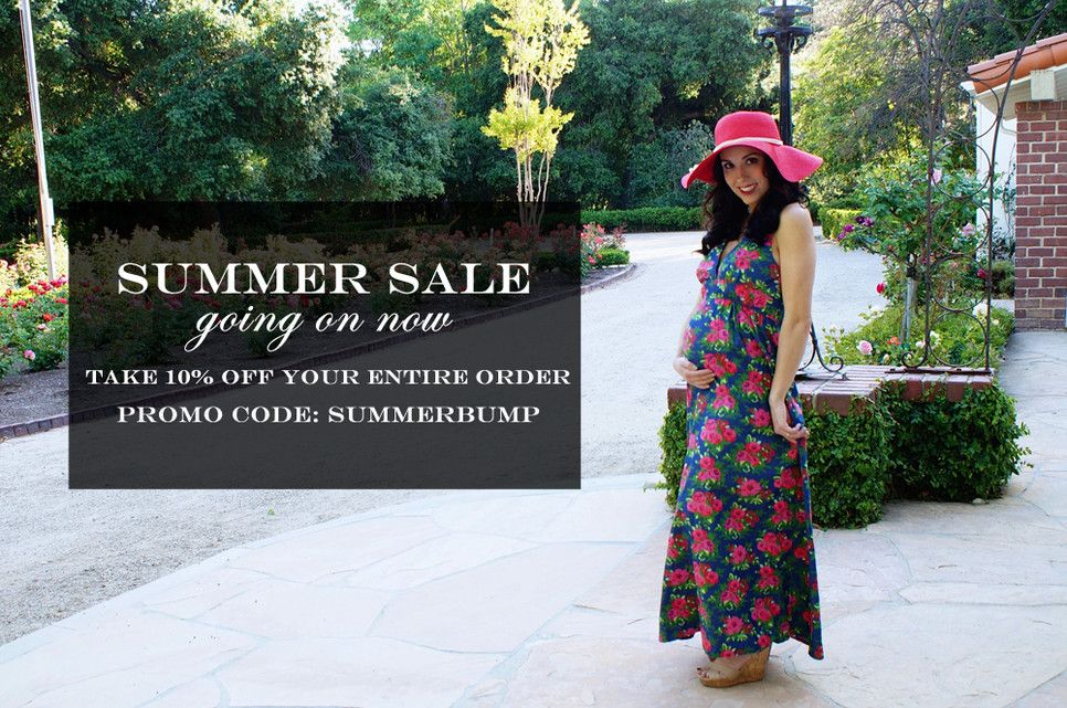 Heritwine Maternity Summer Sale going on now! Newly marked sale items and 10% off your entire order. Plus $5 flat rate shipping and Free Shipping on all orders $75 or more.