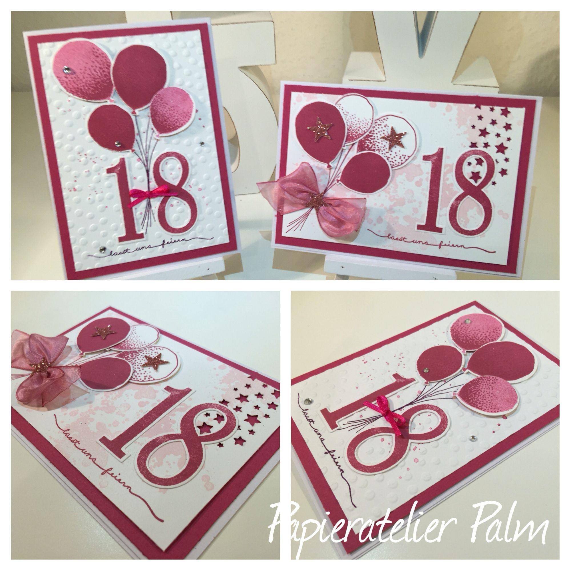 Papieratelier Palm Mit Bildern Geburtstagskarte Danksagung