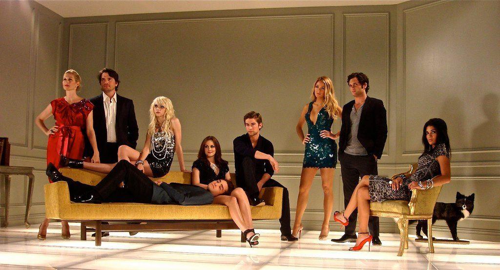 gossip girl season 3 special photoshoot