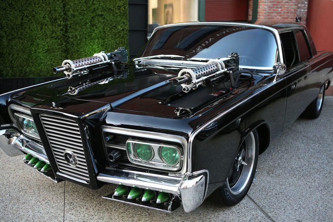 The Black Beauty A 1965 Imperial Crown Four Door Sedan Used In