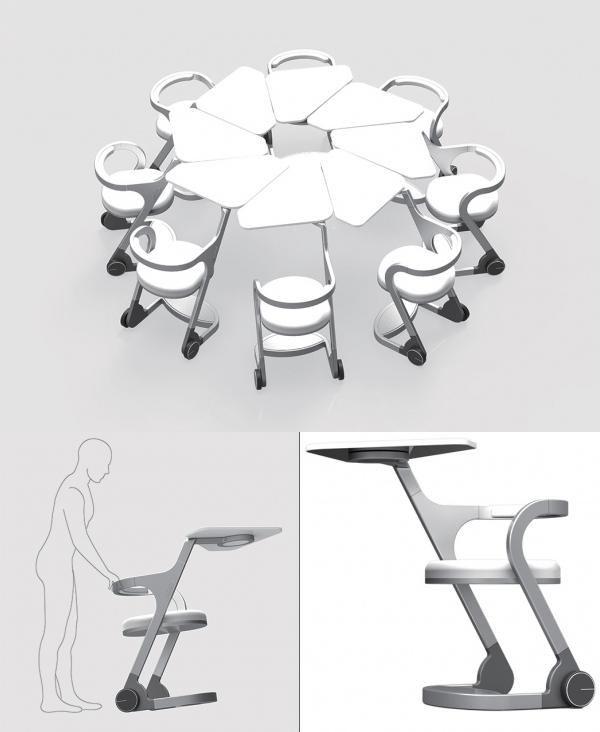 A Smarter Desk For Tomorrow S Schools Classroom Furniture Diy Furniture Design Smart Desk